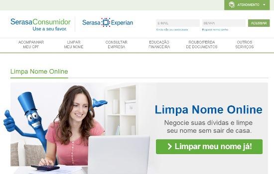 Como usar o Limpa nome online Serasa