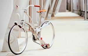 Bicicleta dobrável é criada por designer