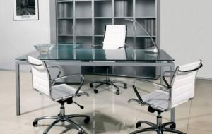 Decoração para escritórios minimalista