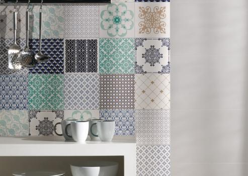 Azulejos com estampas para decorar sua casa, fotos