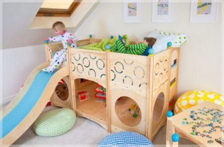 Decoração divertida para quarto de crianças