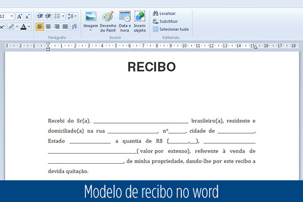Pin recibos pagamento aluguel campo flamengo foto for Recibo de nomina en word