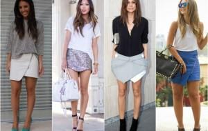 Tendências e modelos das saias assimétricas para 2015