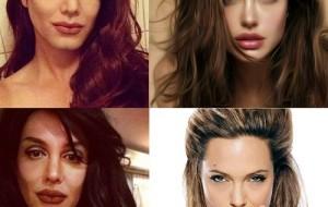 Apresentador se transforma em famosos com ajuda de maquiagem