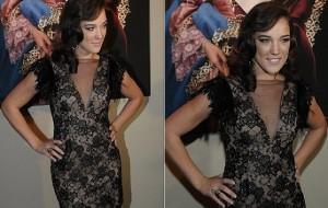 Adriana Birolli e sua boa forma