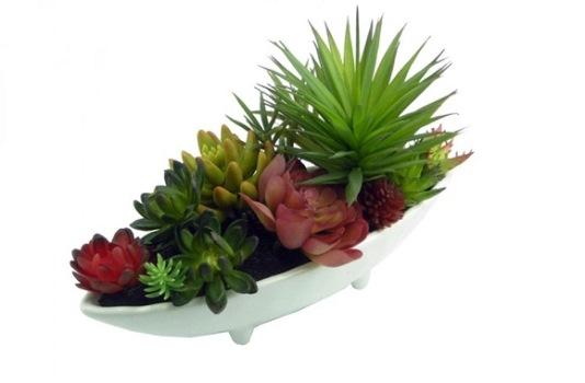 Arranjo de flores artificiais modelos