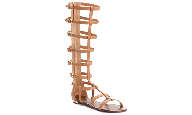 Sandália gladiadoras no verão 2015