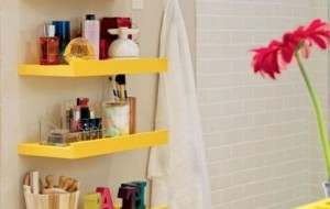 Dicas para organizar seu banheiro