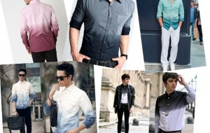 Réveillon 2015 com roupas coloridas para homens