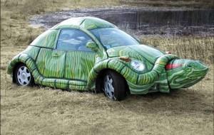 Carros com design criativo