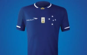 Novo uniforme do Cruzeiro para a temporada 2015