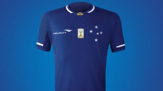Novo uniforme do Cruzeiro para a temporada 2015