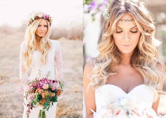 715686 Penteados para noivas com flores 2015 1 Penteados para noivas com flores 2015