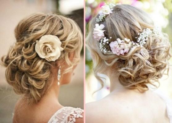 715686 Penteados para noivas com flores 2015 3 Penteados para noivas com flores 2015