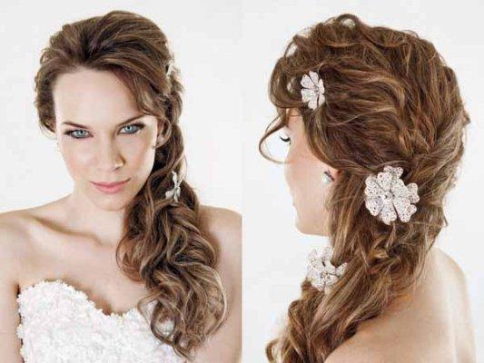 715686 Penteados para noivas com flores 2015 5 Penteados para noivas com flores 2015