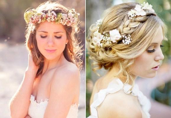 715686 Penteados para noivas com flores 2015 Penteados para noivas com flores 2015
