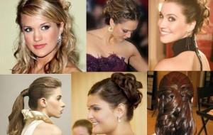 Cabelos para formatura 2015 penteados