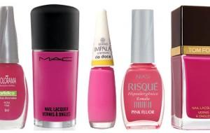 Dicas para usar esmaltes rosa pink no dia a dia