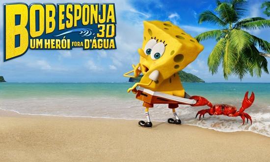 Trailer do filme Bob Esponja 3D