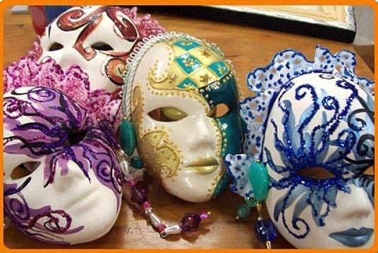 Máscaras para o Carnaval 2015