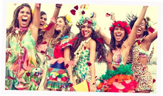 Festa de aniversário com o tema Carnaval