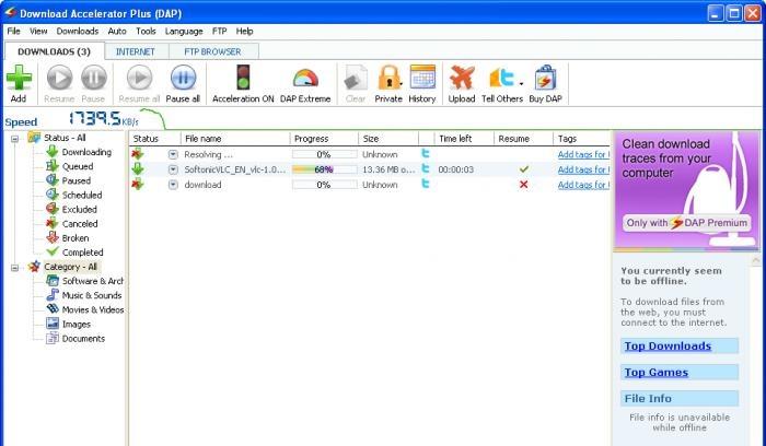 5 programas para acelerar seu download