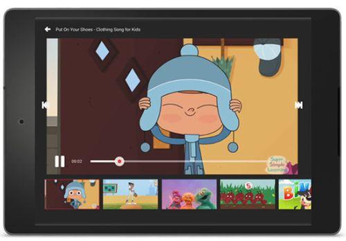 Aplicativo do YouTube exclusivo para crianças
