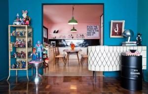 Fotos de casas com decoração retrô