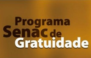 Cursos gratuitos Senac Sergipe 2015
