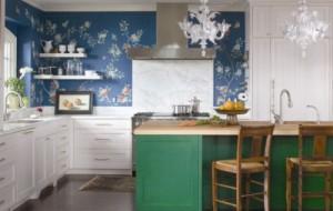 Decoração papel de parede cozinha