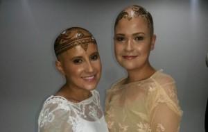 Coroa de hena para mulheres carecas com câncer