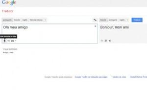 Google Tradutor com áudio online grátis como usar