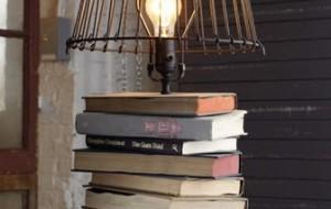 Como usar livros na decoração