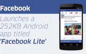 Facebook lança aplicativo mais leve e mais rápido para Android