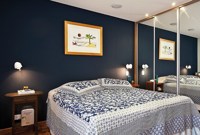 Quartos De Casal Decorados Em Azul ~   quarto do casal 7 600×600 Sugest?es de cores para quarto de casal