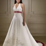 74548 detalhes em vermelho que fazem a diferença 150x150 Vestidos de Noiva Coloridos   Fotos