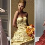 74548 tons pastéis 150x150 Vestidos de Noiva Coloridos   Fotos