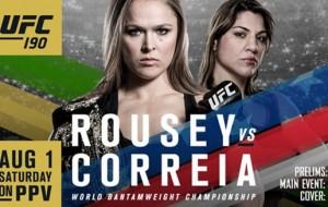 Combate UFC 190: Ronda Rousey vs Bethe Correia