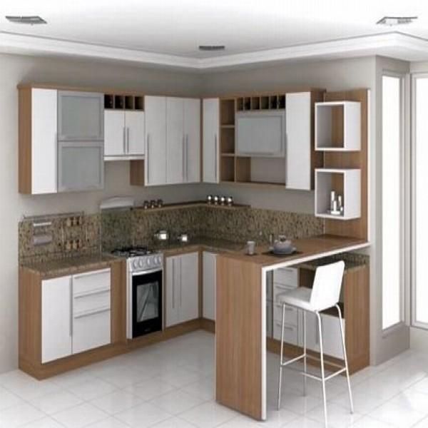 Modelos de cozinhas pequenas planejadas - Armarios para casas pequenas ...