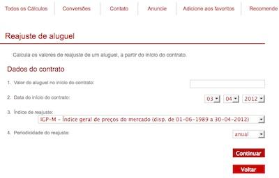 76733 reajustealuguel Reajuste Aluguel 2011 IGPM