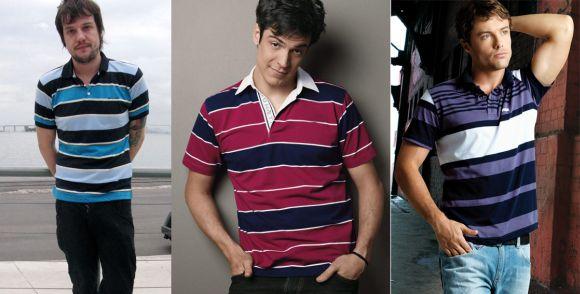 Tendência de moda jovem masculina 2017