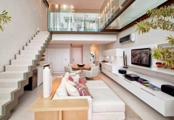 decorar salas de estar moderna 2 Dicas criativas para decorar salas de