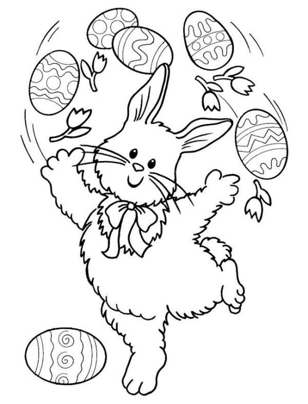 777 desenhos e figuras de coelhinho da páscoa para colorir 23 Desenhos e Figuras de Coelhinho da Páscoa para Colorir