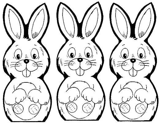 777 desenhos e figuras de coelhinho da páscoa para colorir 31 Desenhos e Figuras de Coelhinho da Páscoa para Colorir