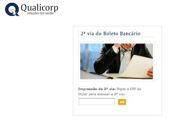 80922 2viaboletoqualicorp Qualicorp 2 Via Boleto