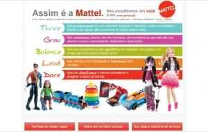 Trabalhe Conosco Mattel Vagas de Emprego