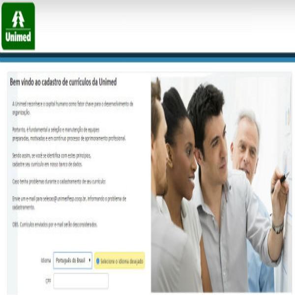 86284 vagas de emprego unimed cadastro de curriculo 600x600 RH Unimed, Vagas E Cadastro De Currículo