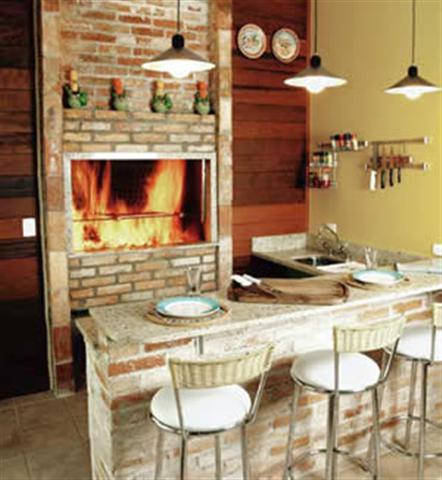 90696 modelos de churrasqueiras internas Small Fotos de Área de Churrasqueira Projetos