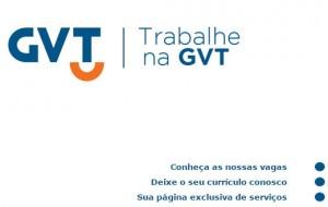 trabalhe na GVT