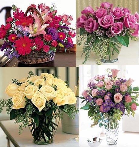 91836 arranjo de flores 15 Arranjos de flores para decorar a casa